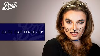Halloween Make-up Tutorial | Cute Cat | Boots UK