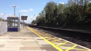 HST train going through Ealing Broadway to Weston Super Mare