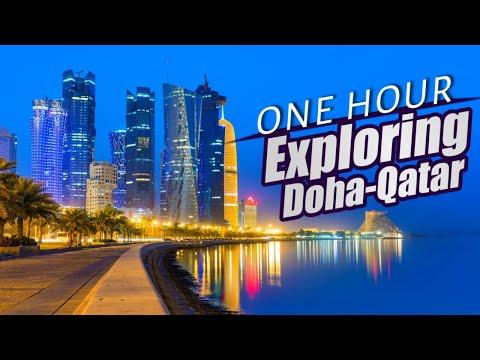 Exploring Doha Qatar   Driving in Doha Qatar