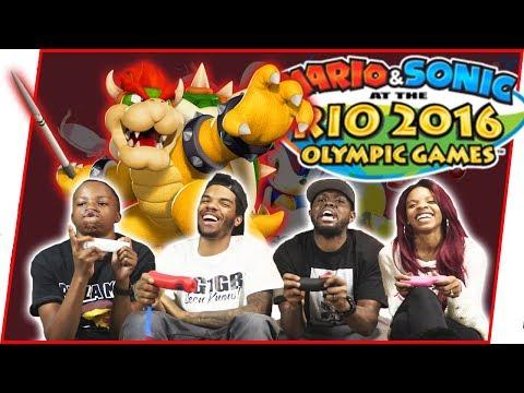 THE MAV3RIQ FAM BATTLES AT THE OLYMPICS! - Mario & Sonic at the Rio 2016 Olympic Games