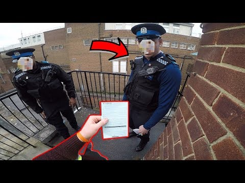 POLICE BANNED ME FROM MY HOMETOWN! *ROOFTOP PARKOUR POV*