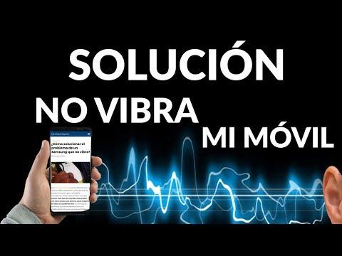 Solución Mi Móvil Samsung NO Vibra