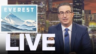 John Oliver's Message To Rich People Climbing Mt. Everest  | ET Canada LIVE