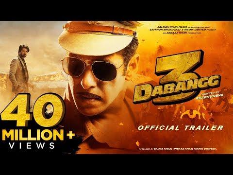 Dabangg 3: Official Trailer | Salman Khan | Sonakshi Sinha | Prabhu Deva | 20th Dec'19