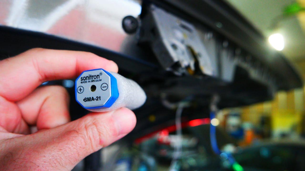 Установка модуля автоматического закрывания багажника на Вольво хс70.