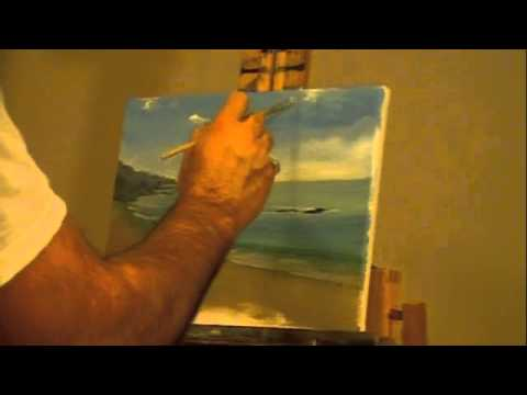 How to Paint Seascapes – Oil Painting Demonstration