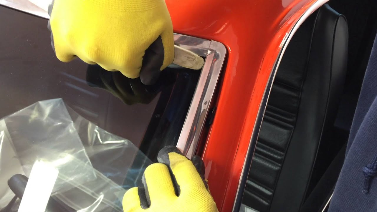 Classic Mustang Windshield Trim Installation Youtube