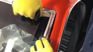Classic Mustang Windshield Trim Installation