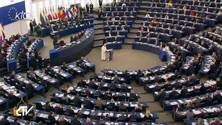 Discours du pape François au Parlement européen