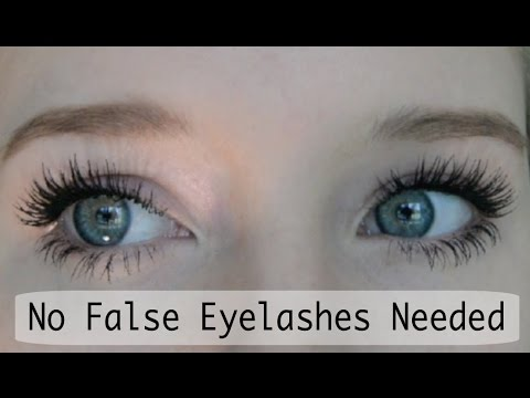 296c3932e10 False Eyelash Effect Using Just Mascara - YouTube