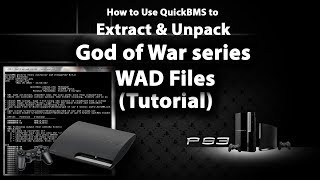 PS3 Games WAD Files Extractor ( GOW Series ) Tutorial