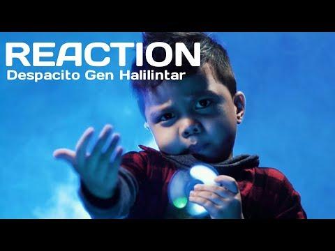 [REACTION] Despacito Luis Fonsi ft D. Yankee, Justin Bieber Cover by Gen Halilintar