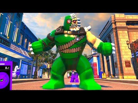 Lego Dc Super Villains Doomsday Open World Free Roam Gameplay Pc Hd 1080p60fps Youtube