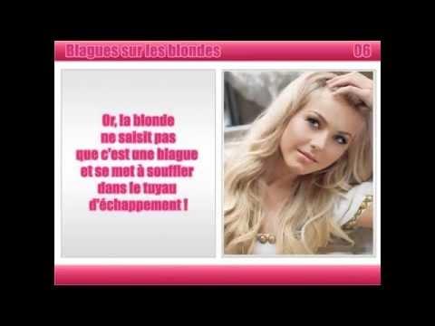 histoire drole sur les blondes