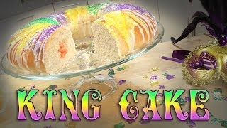 Mardi Gras King Cake | Just Add Sugar