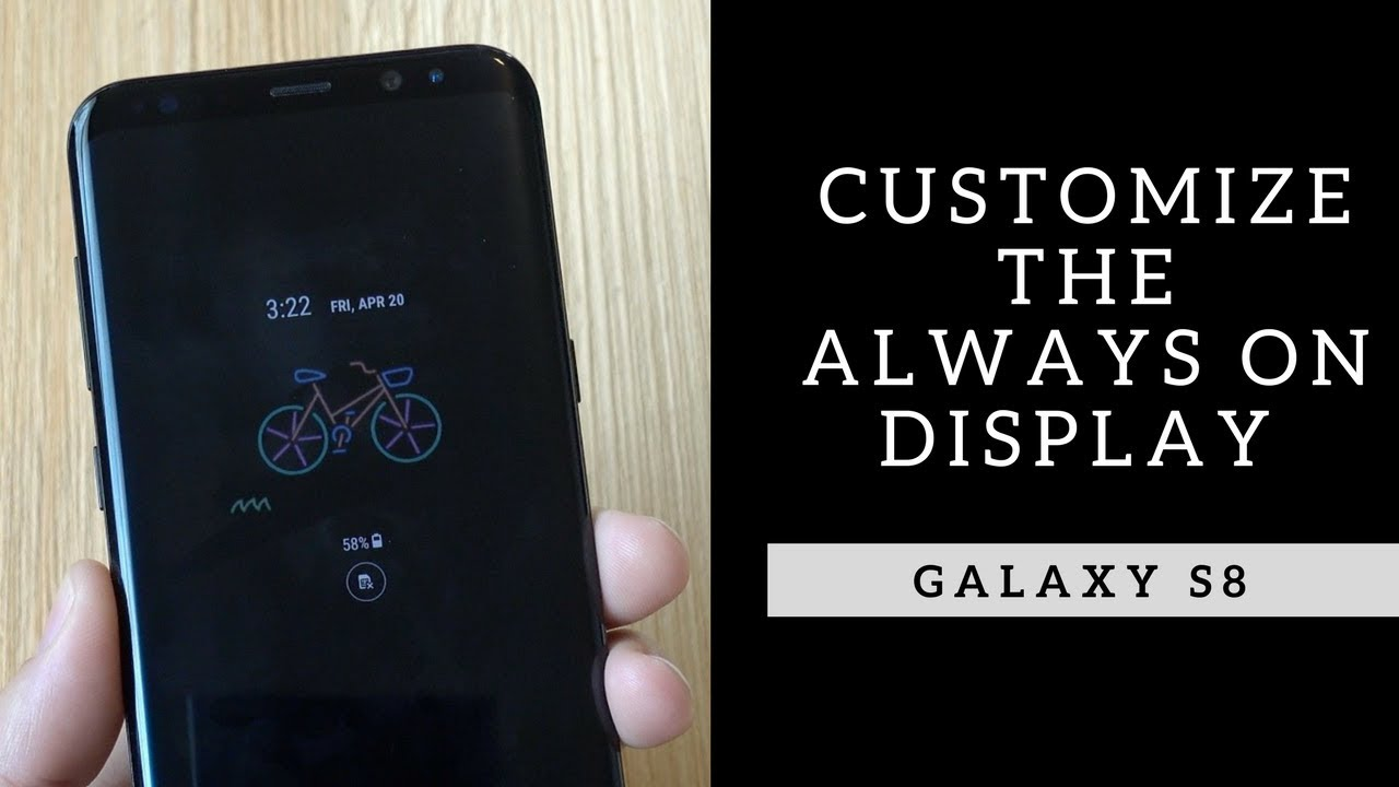 How to Customize the Galaxy S9 Always-On Display