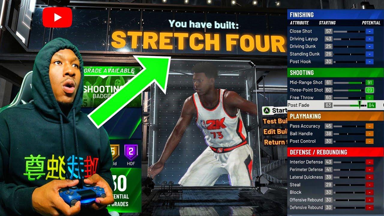 Der beste Stretch Big Build NBA 2K20! Dieser DEMIGOD Build ist verrückt! Bestes Shooting Center Build 2K20! + video