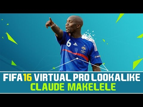 FIFA 16 | VIRTUAL PRO LOOKALIKE TUTORIAL - CLAUDE MAKELELE