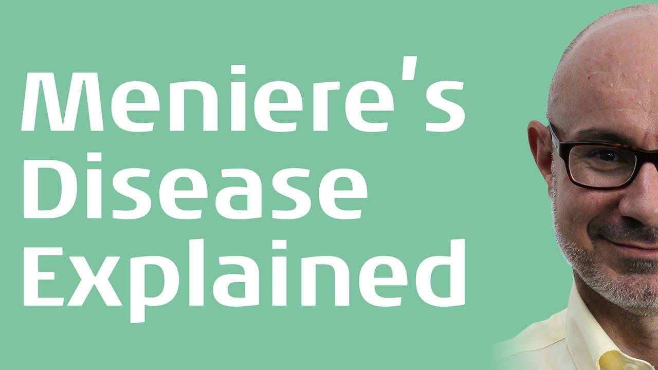 Menieres Disease Explained By M S Darren M Whelan Youtube