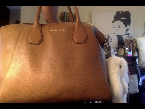 Michael Kors Hamilton Campbell Satchel Review - YouTube 680fb53a2cb