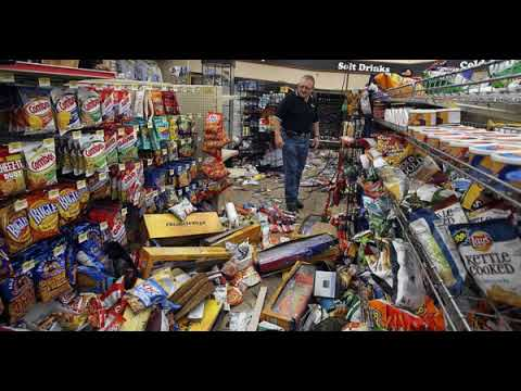 MAN LOCKED INSIDE A SUPERMARKET FOR A NIGHT EATS $8,000 WORTH OF FOOD