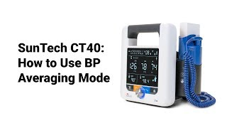 SunTech CT40:  How to use BP Averaging Mode (7 of 9)