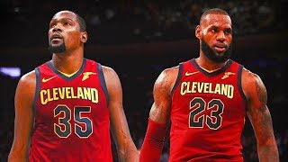 Kevin Durant Joins LeBron James on the Cleveland Cavaliers (Parody)