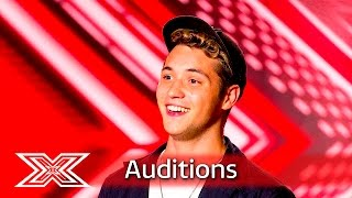 Aeron Smith doesn't miss a thing with Boyce Avenue cover | Auditions Week 3 | The X Factor UK 2016