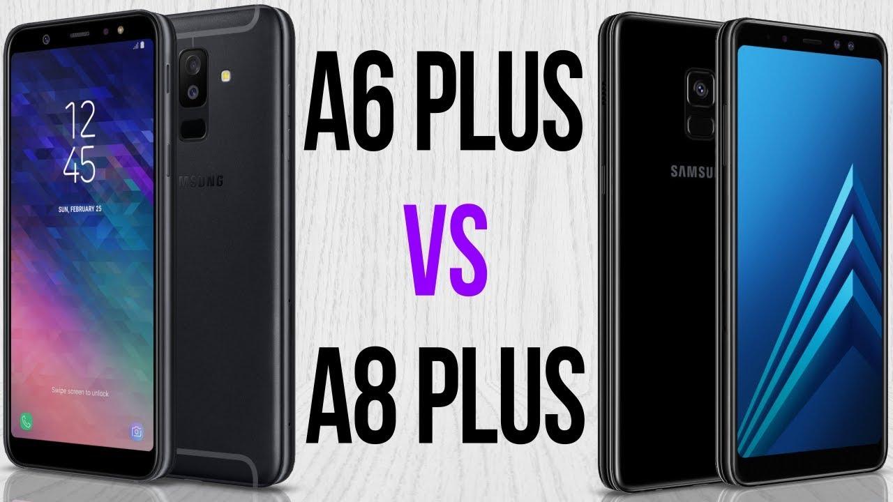 d1524f3b0c1ce A6 Plus vs A8 Plus (Comparativo em 3 minutos) - YouTube