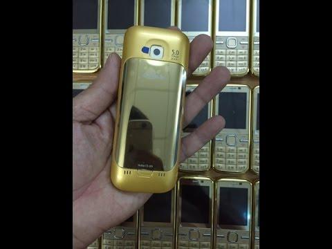 Điện Thoại Nokia c5 00 Gold chính hãng - Nokia c5 00 giá rẻ tại Hà Nội