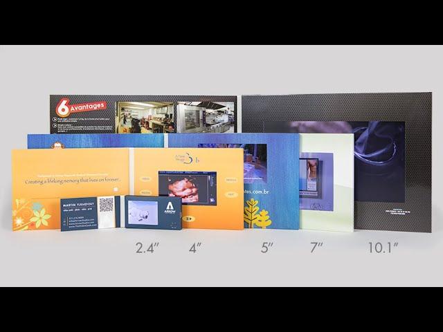 Funtek Video Brochure with Custom Design for Brand Advertising