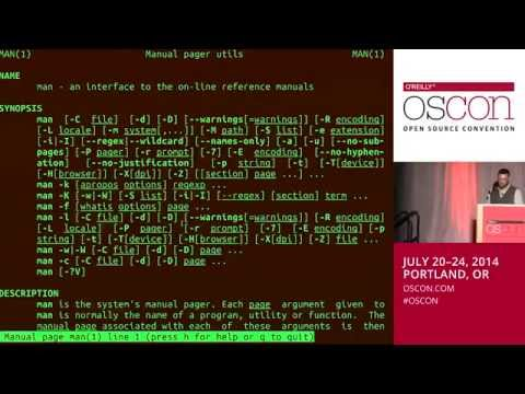 Introduction to Advanced Bash Usage - James Pannacciulli @ OSCON 2014