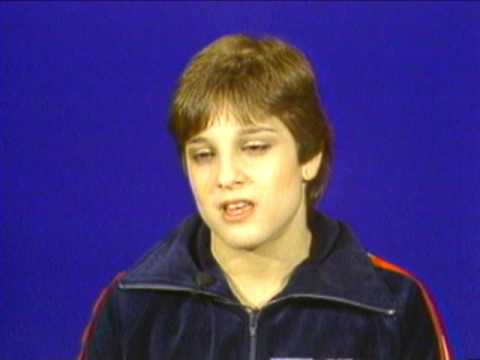 Mary Lou Retton - 1984 American Cup Interview