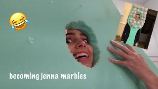 RECREATING JENNA MARBLES TOOTHBRUSH COSTUME!!!