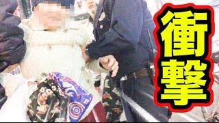 【置き引き】財布を盗んだおばさんと直接対決!!