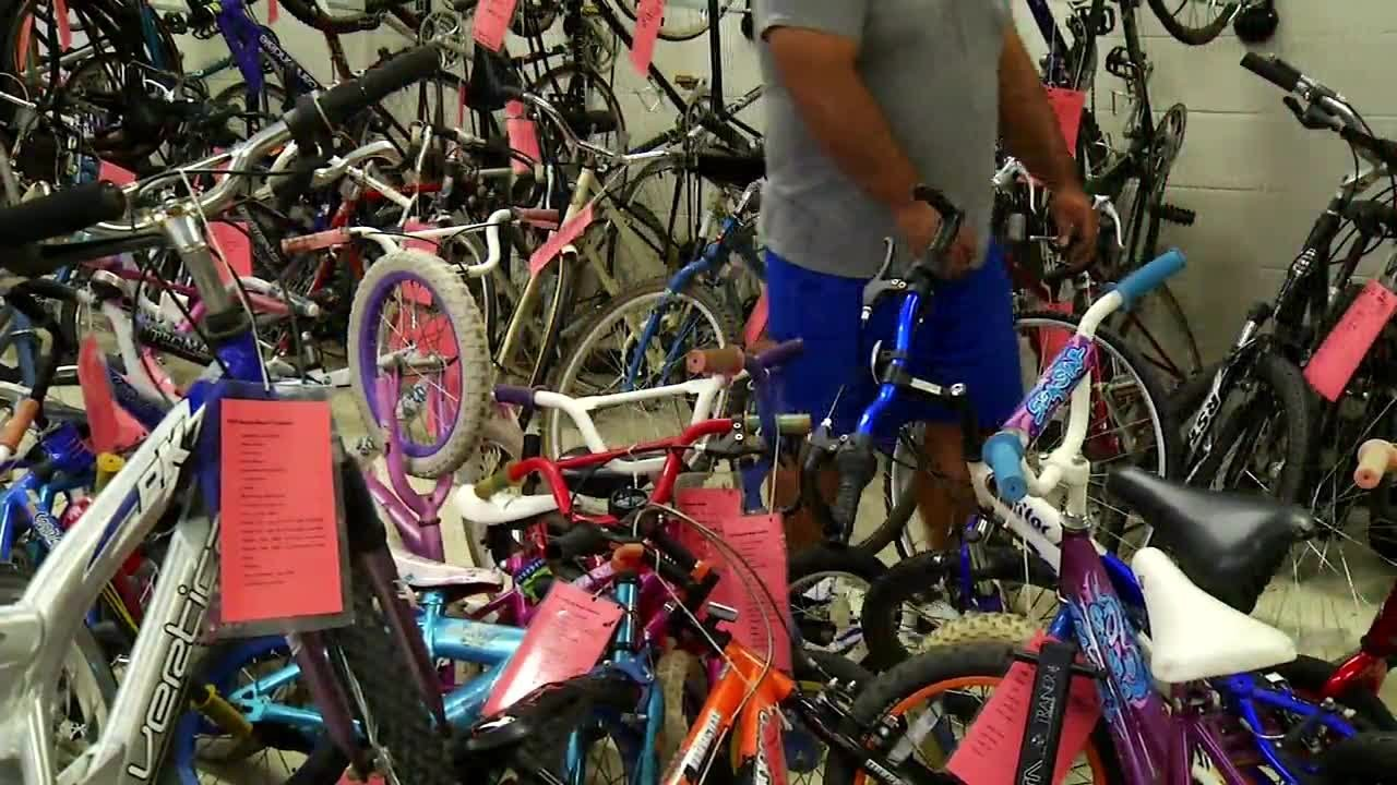 51377e4c85d Topeka Community Cycle Project giving old bikes new life - YouTube