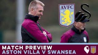 MATCH PREVIEW | Aston Villa v Swansea City