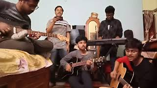 Bondhu Chol | Anupam Roy | Jamming | Guitar | Keyboard | Chords | Solo
