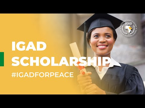 #IGADinOneMinute - IGAD Scholarship Scheme