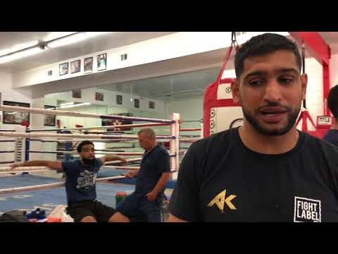 Amir Khan reaction to Manny Pacquiao KO