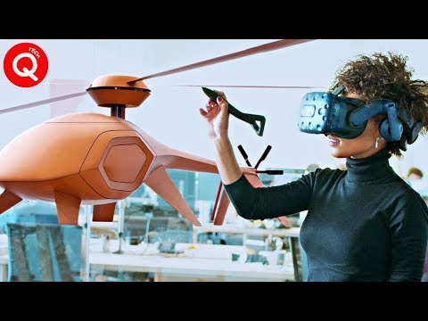 Ingenious Designer Who Has Taken Virtual Reality to Another Level ▶ QTechHD