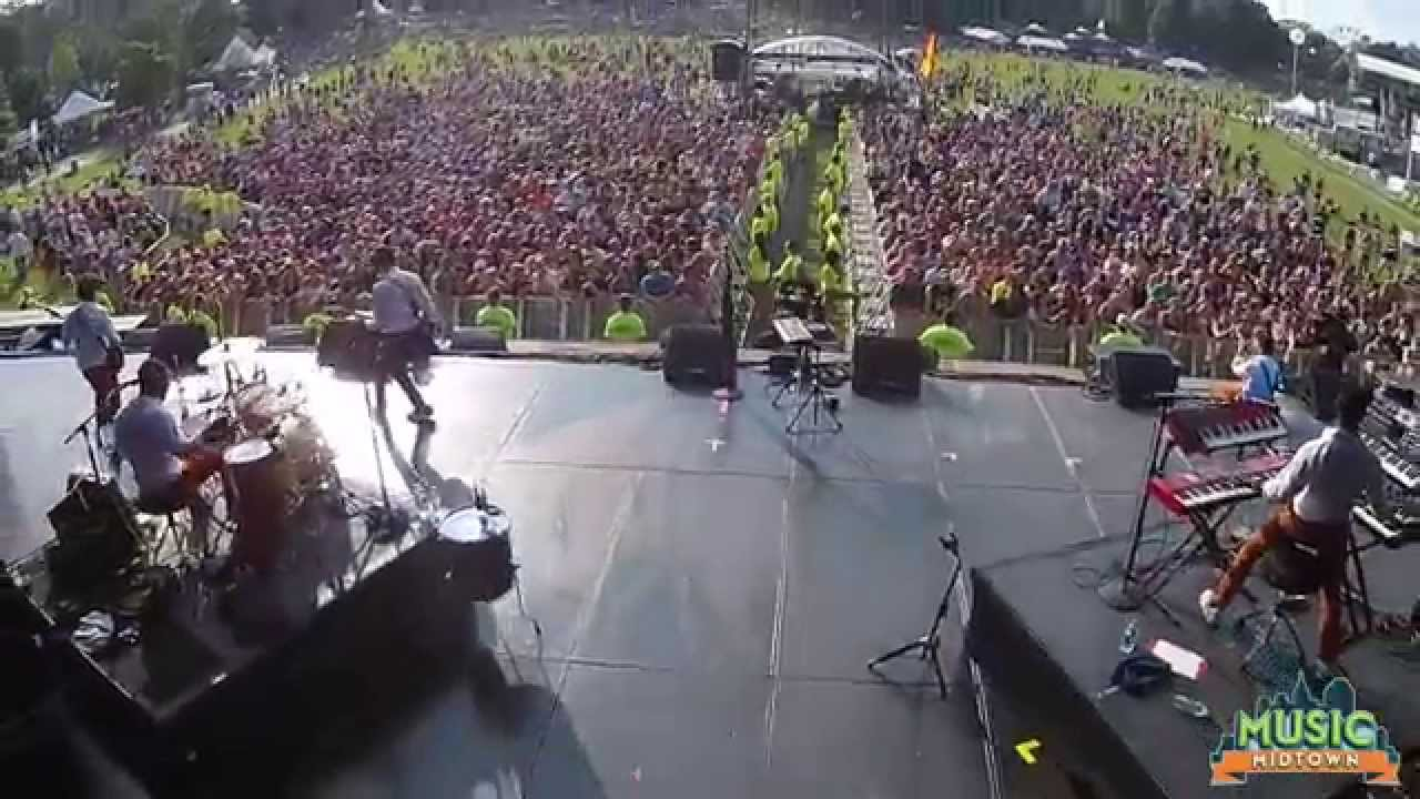 Music Midtown From Above Youtube