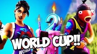 How to get EXCLUSIVE Fortnite World Cup skins! (Fortnite Battle Royale)