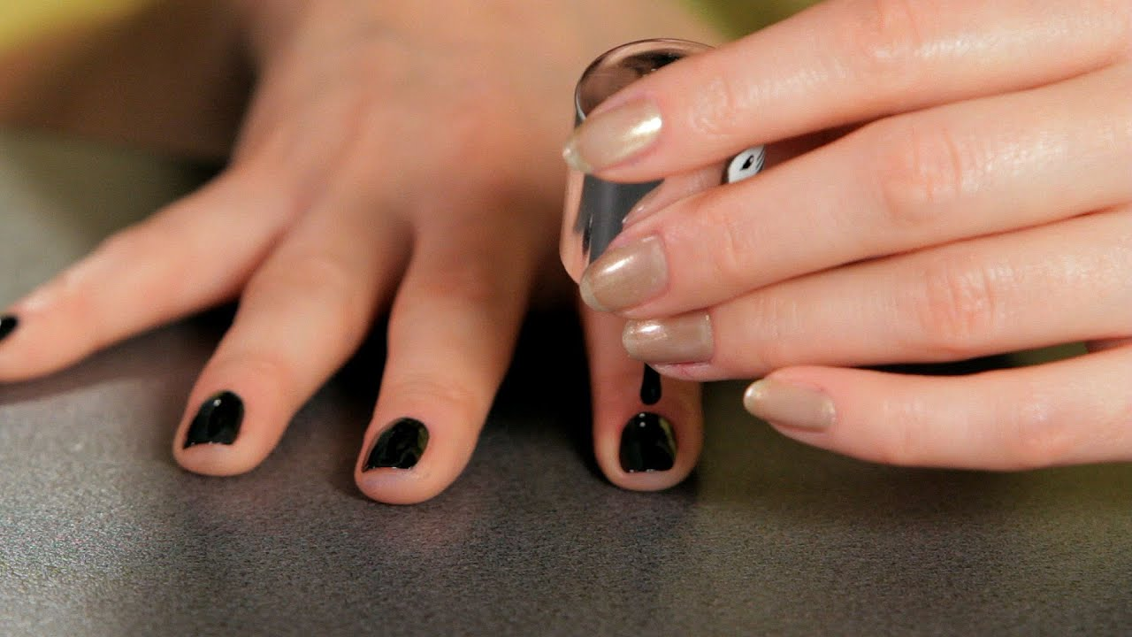 How to do a black design nail art designs youtube prinsesfo Images