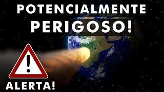 Asteroide a 108.000 km por hora está vindo em direção a Terra?