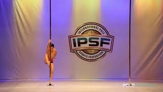 Moises Ahumada Reyes - IPSF World Pole Championships 2018