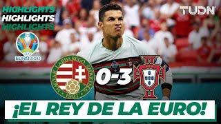Highlights   Hungría 0-3 Portugal   UEFA Euro 2020   Grupo E-J1   TUDN