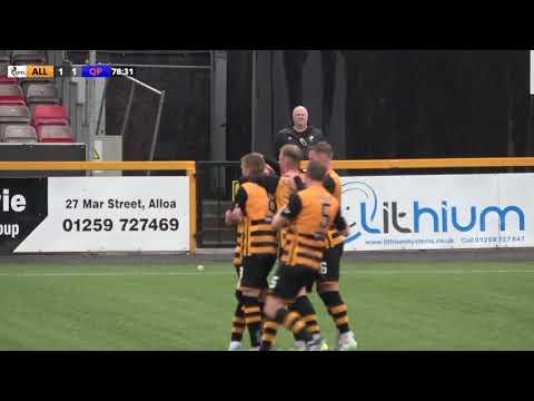 Alloa Queens Park Goals And Highlights