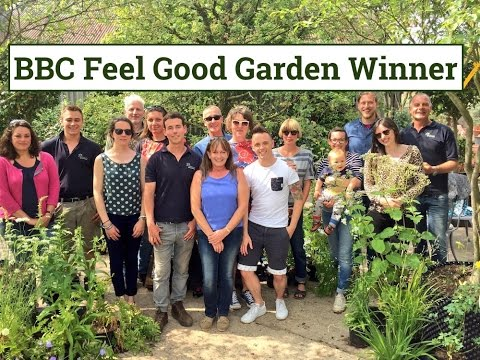 BBC feel good garden winners featuring Garden Ninja