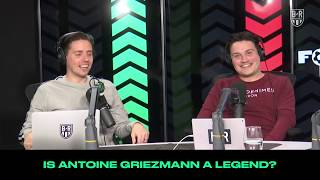 "Is Antonie Griezmann A ""Legend?"": B/R Football Ranks Podcast"